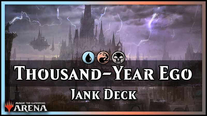The Thousand-Year Storm Ego Jank | Magic / Arena