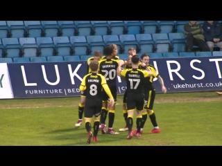 Гиллингем 0 - 1 Ротерхэм ЮнайтедЛига 1 2017/18. 44 тур