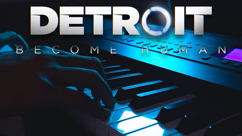 Kara and Connor Main Themes Detroit Become Human | Piano Cover