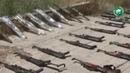 Сирийская армия нашла большой схрон оружия террористов в Даръа