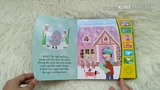The Ugly Duckling Noisy Readers Board Book - Press the Button, Listen and Read Along!