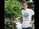 Школьники посадили миллион деревьев