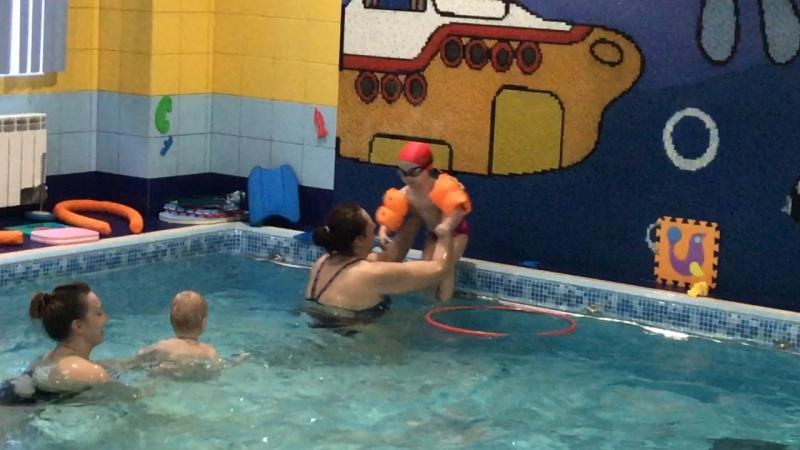 Любовь к бассейну безгранична