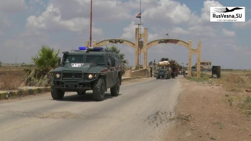 Русские Тигры спешат на помощь военные спасают людей из столицы сирийских боевиков