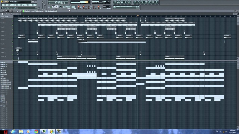 FL Fruity Loops ( Prodigy style )