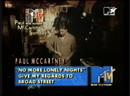Paul mccartney - no more lonely nights mtv