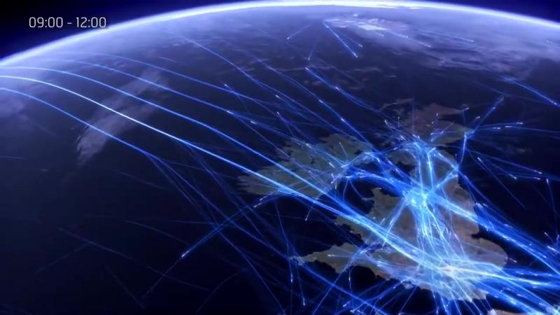 Animation zeigt Europas kompletten Flugverkehr_HD.mp4