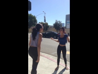 Mexican girls fight