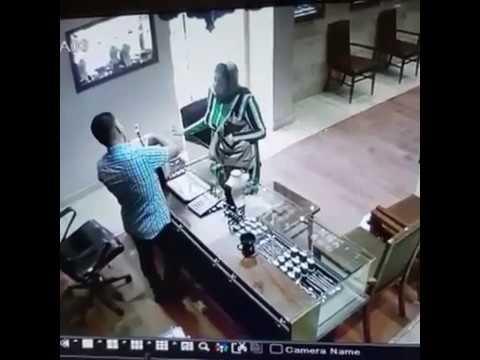 Неудачный грабеж
