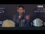Пресс-конференция после UFC 229. Хабиб Нурмагомедов