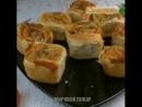 Рулетики с сыром и ветчиной!👍