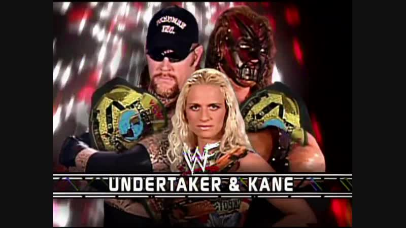 Undertaker Kane Vs Chuck Palumbo Shawn OHaire - WCW Tag Team Championships - Tag Team Steel Cage Match - RAW 13.08.2001