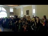 А.Я. Розенбаум, хор имени М. Е.Пятницкого и Фолкдети Репетиция к концерту