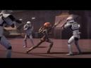 ★ 1080p HD Sabine's Sister Ketsu VS Stormtrooper Squadron - Star Wars Rebels - Full Scene