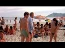Голые дочки на пляже не стесняются своих отцов (голая дочка, сиськи дочери, голая грудь дочки)