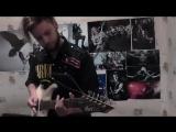 Darkthrone - Triumphant Gleam (riffs cover)
