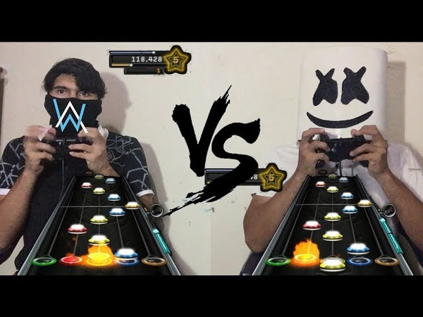 [GH3CH] Alan Walker vs Marshmello Batalla Epica 1| FAN MADE