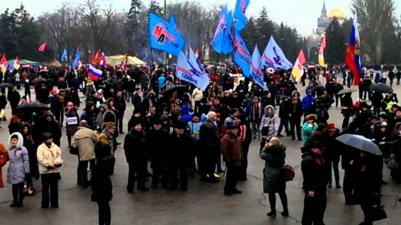 Одесса.1 марта,2014.Русвесна в городе.