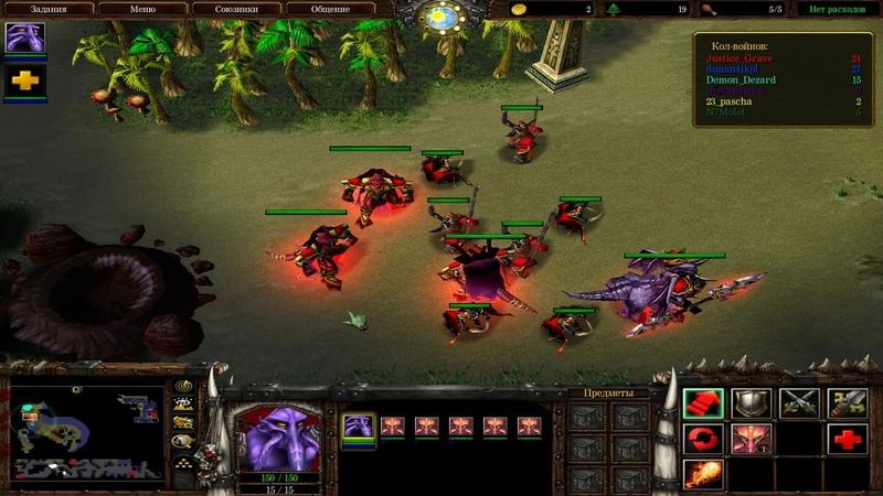 WarCraft 3 - War of Leaders - Закрытый тест 1