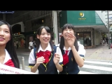 Reaction of Japanese idols on Russian tourist. Cutie!