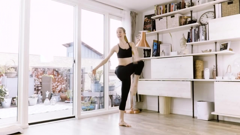 Toned and Beautiful Ballerina Abs Workout