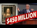 Leonardo da Vinci's Christ SOLD $450 MILLION the'Salvator Mundi' at Auction