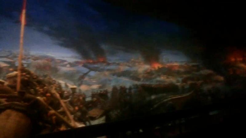 Диорама Пресня 1905 в Музее на Пресне. Каждый, у кого в груди бьется пролетарское сердце...