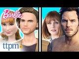 ОБЗОР кукол: Jurassic World Barbie Dolls: Claire and Owen Dolls