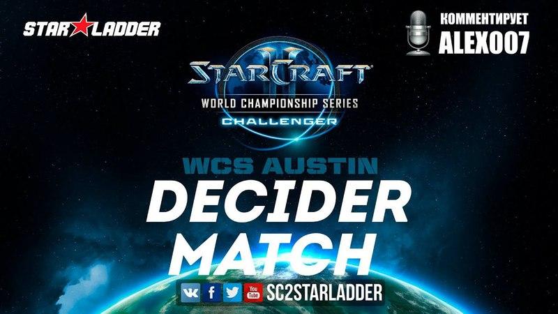 2018 WCS EU Challenger Season 1 - Ro16, Group B, Decider Match: Nerchio (Z) vs SouL (T)