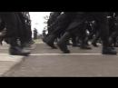 Военный парад в ознаменование 73-й годовщины победы в Великой Отечественной войне в Керчи