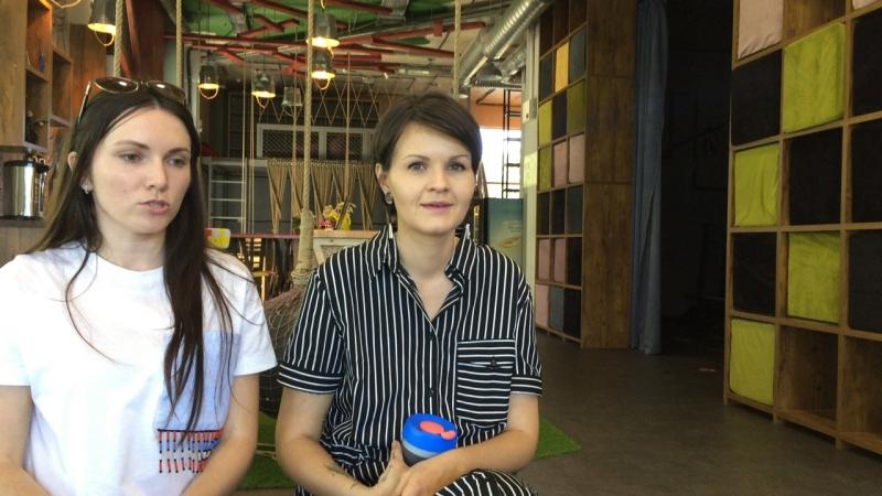 Утренняя кофемолка. Ирина Кавецкая и Алина Калбасова. VR