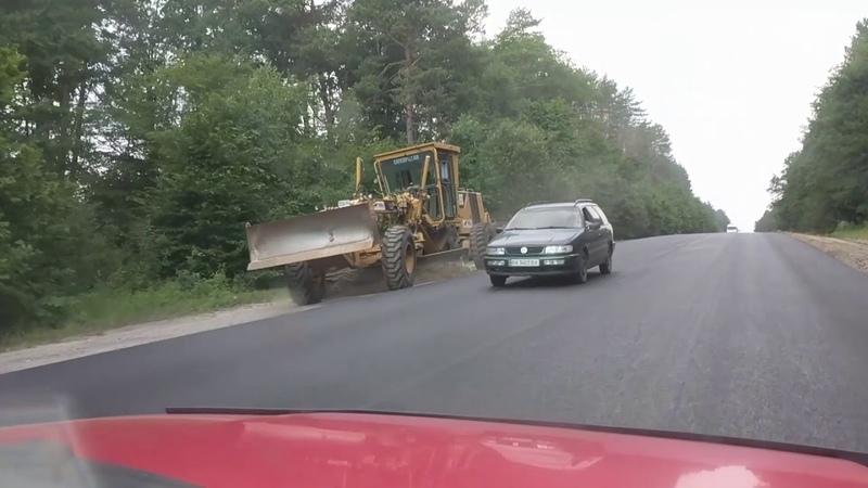 У напрямку Славути біля Шепетівки почали робити дорогу