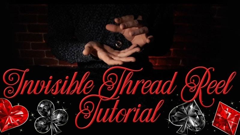 Invisible Thread Reel - ITR magic trick tutorial