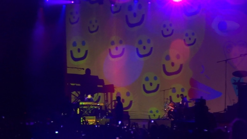 Portugal. The Man - Feel It Still @Live in Crocus City Hall, Moscow, 18.07.2018