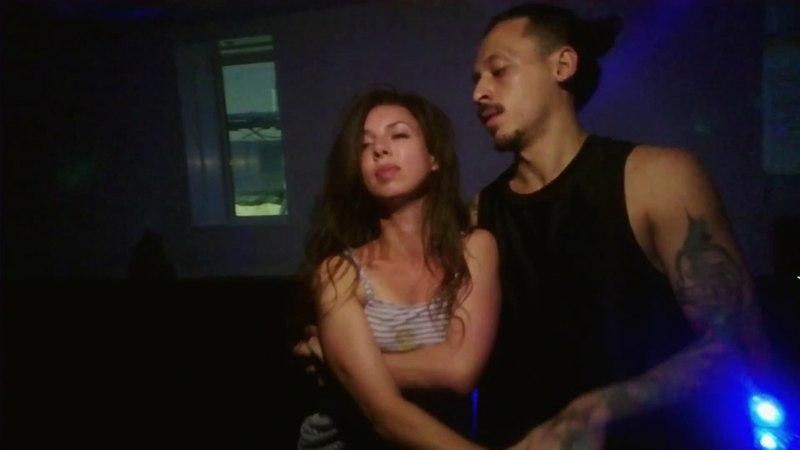 Ipanema Party. Carlos Oliveira and Antonina. Zouk improvisation (Zipper)