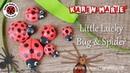 Lucky Quilling Bug Spider (for beginners) - Karen Marie Klip Papir