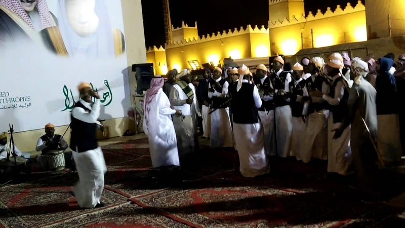 Танец Арда. Стиль Эль – Касим. AlArdha Dance of Saudi Arabia from Qasseem side (Qasseem style dance)