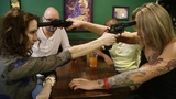 Two women shoot each other in the head during Russian roulette. Crazy!