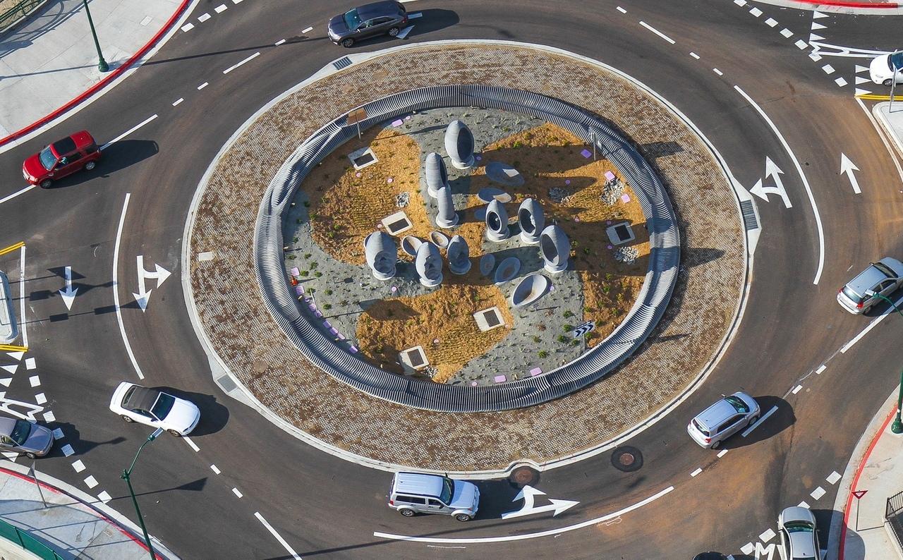 Транспортное кольцо, собирающее воду