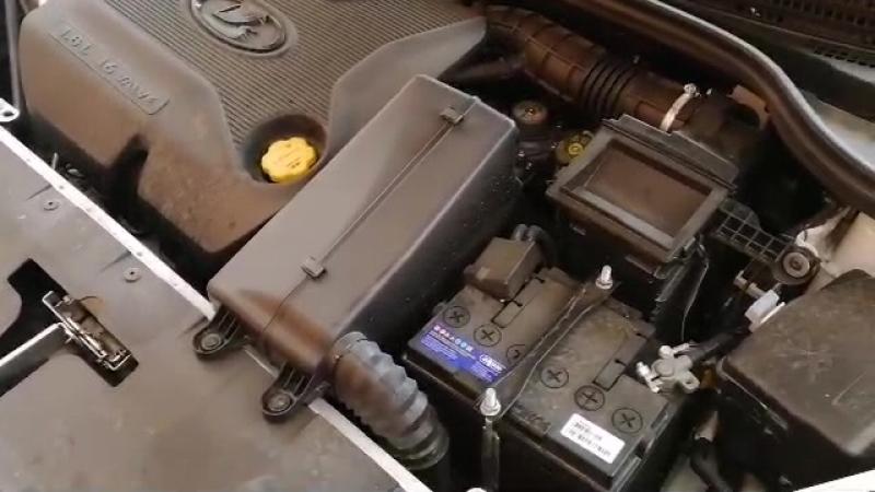 Пуск двигателя Лада Веста 1.8 утром на холодную