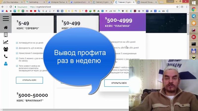 CryptoLand Fund Тетов Виктор фонд из Одессы ВЛОЖИЛ 5 000$