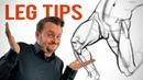 3 Random-Ass Tips on Drawing Legs