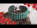 Nisa bracelet with minos and super duos - Beading Tutorial