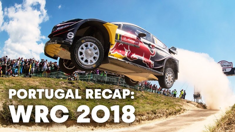 WRC 2018 Top 5 moments at Rally Portugal 2018 ...