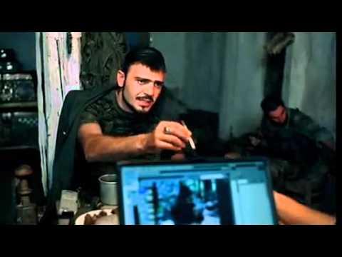 Отрывок из к/ф Война: чеченский боевик толкает речь