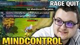 Mindcontrol Make Enemies Faceless Void RAGE QUIT Abandoned The Game