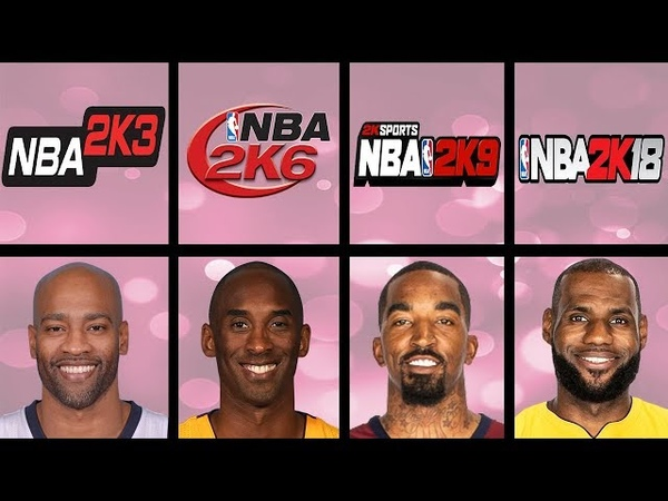 Highest Rated Dunkers Ever In NBA 2K Games (NBA 2K3 - NBA 2K18)