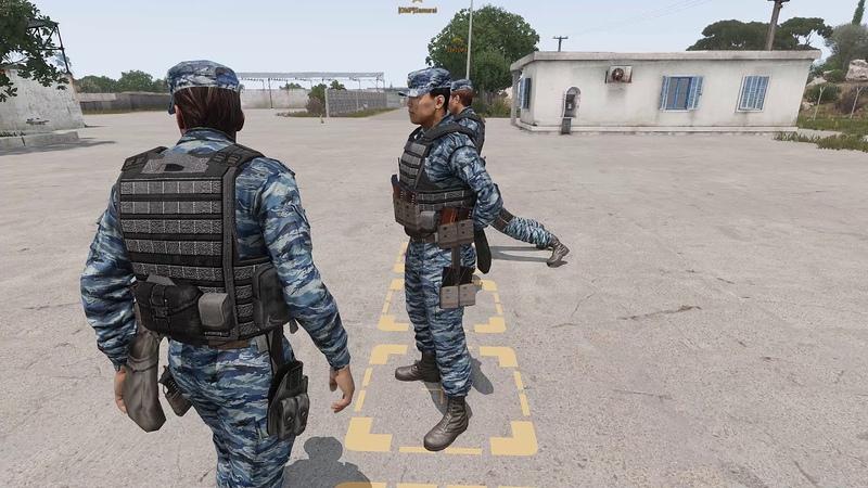 Arma 3 Зевс от SvSа (Военная Полиция)