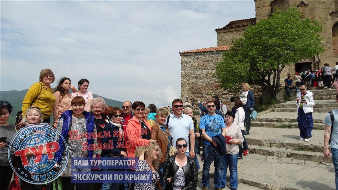 Группа на экскурсии в Грузии