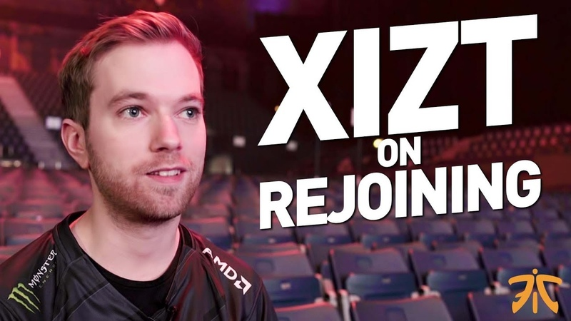 Xizt returns to FNATIC - Welcome Home Interview - Talks On Rejoining The Team